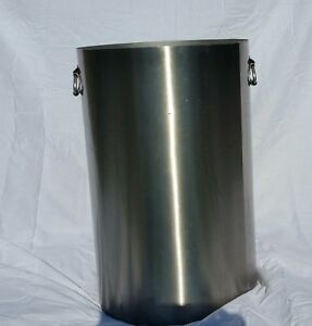 20 Gallon Stainless Steel Tank For Making Wine beer cooking deep Fryer storage
