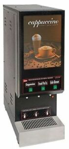 Grindmaster Cecilware Gb3 3 Flavor Cappuccino Machine Shipping Available In Us