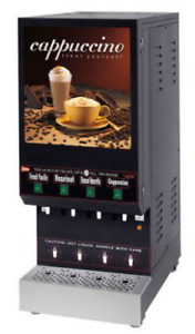 Grindmaster Cecilware Gb4 4 Flavor Cappuccino Machine Shipping Available In Us