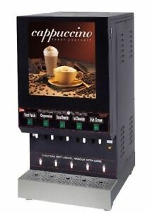 Grindmaster Cecilware Gb5 5 Flavor Cappuccino Machine Shipping Available In Us