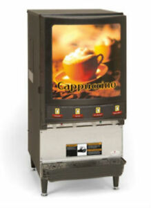 Grindmaster Pic4 4 Flavor Cappuccino Machine Shipping Available In Us