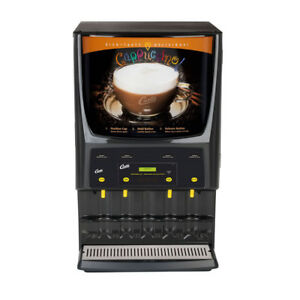 Curtis Pcgt4 4 Flavor Cappuccino Machine Shipping Available In Us