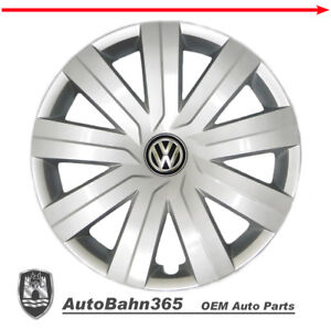 New Genuine Oem Vw Hub Cap Jetta 2015 2016 9 spoke Wheel Cover Fits 15 Wheel