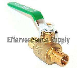 10 1 Pex Brass Ball Valve Full Port Lead Free Free Delivery In 3 Days