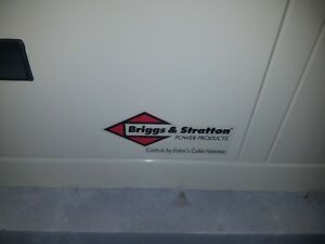 Briggs Stratton Standby Generator 12kw 040201 W Transfer Switch And Cold Kit