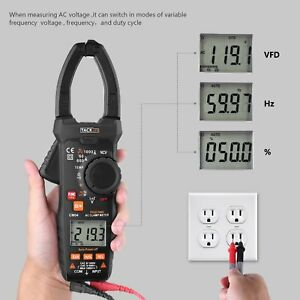 Digital Clamp Meter Tacklife Cm04 Clamp Multimeter Ac Amp Meter 1000a Ac dc