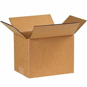 Shipping Boxes 25 Pack 8x6x6 Cardboard Box Mailing Storage Small Packing Boxes
