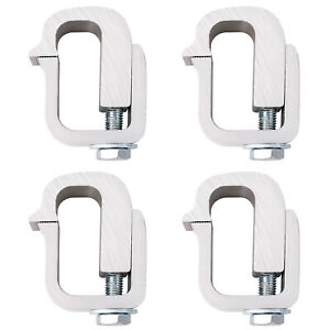 Pickup Truck Cap Mounting Clamps Camper Shell Topper Short Bed set Of 4