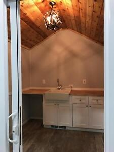 Mobile Office For Work From Home Tiny House Playhouse Heated Water Refrigerator