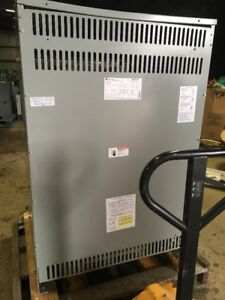 Transformer Ge Mdl 9t83b3878 300kva 3 Phase 480 208 120 Delta Wye Distribution