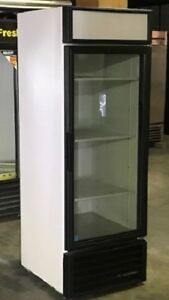 Used Single Glass Door Cooler Merchandiser Led Lighting