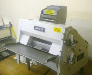 Anets Sdr21 Double Pass Dough Roller Countertop Pizza Bakery