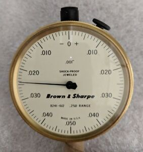 Brown And Sharpe 599 8241 612 Dial Indicator