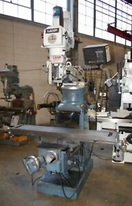 Lagun Model Ftv 3 Knee Type Vert Mill W 58 l Table 3hp 4250 Rpm Spindle