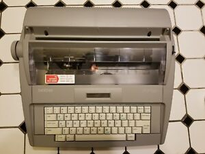 Brother Sx 4000 Electronic 16 Character Lcd Display Typewriter
