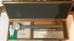Mitutoyo 12 Inch Dial Veriner Caliper No 505 645 50 With Case 0 To 12 Nice