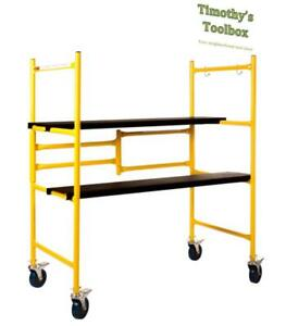 Renegade Tools 4 Folding Mini Scaffold