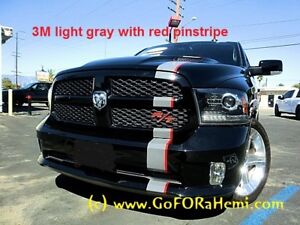 Dodge Ram 1500 Truck Mopar 5 Vinyl Racing Stripes Decals Graphics Offset 20feet
