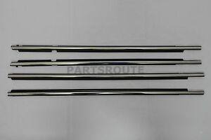 Toyota Land Cruiser Prado Lexus Gx470 Oem Front Rear Door Belt Moulding 2003 09