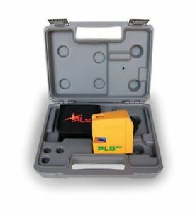 Pls180 Green Cross Line Laser Level Kit With Sld Detector Pls 60619 By Pacifi