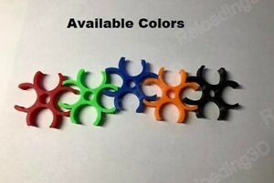 Lee Multi Tube Clip for case & bullet feeder - Custom Colors - 2 pieces
