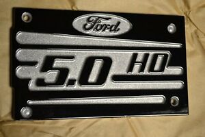 94 95 Ford Mustang Gt Intake Manifold Plate Plaque Powder Coated