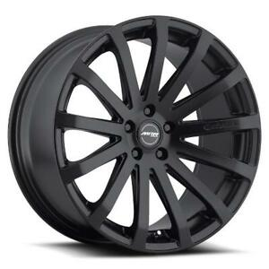 20x9 5 Mrr Hr9 5x120 40 Matte Black Rims Set Of 4