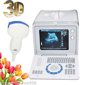 A ultrasound Scanner Scan Monitor Convex Probe gift 3d Medical For Pregnancy