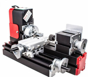 Us Mini Metel Lathe Diy Tool Metal Motorized Machine Educational Tools