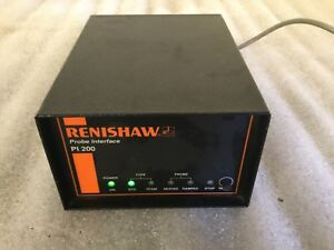 Renishaw Pi200 Cmm video Measuring Mach Probe Interface