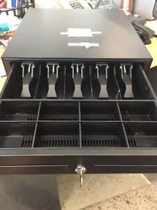 Mmf vl1616e 04 Mmf Val u Line Electronic Cash Drawer 5 Bill 8 Coin Till
