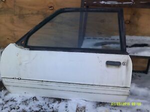 1987 1993 Ford Mustang Hatch Or Notch Driver Side Door Lh 88 89 90 91 92 93 87