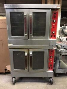 Vulcan Gas Convection Ovens Double Stack Sg4d