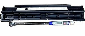 Napa 1 2 Dr Electronic Digital Torque Wrench 25 250 Ft Lbs 4260
