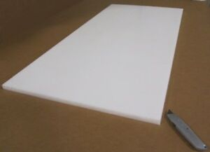 Delrin Acetal Sheet White Pom 3 4 750 Thick X 24 Width X 48 Length