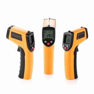 California Sugar Non contact Laser Lcd Display Digital Ir Infrared Thermometer