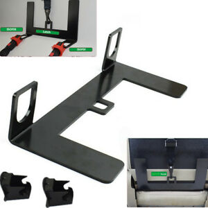 Steel Latch Isofix Connector Car Seat Belt Buckle Bracket For Child Safety Seat