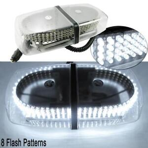 One Set White 240 led Snow Plow Flashing Warning Safety Truck Strobe Light Lamp
