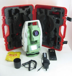 Leica Ts02 7 Demo Condition Total Station For Surveying One Month Warranty