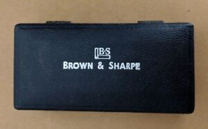 Brown And Sharpe 599 250 9999 Caliper Case