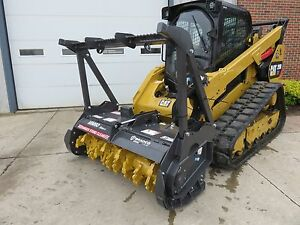New Bradco Skid Steer Loader 60 Magnum Mulcher Series 2 Attachment