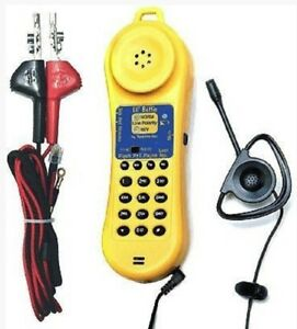Test um Jdsu Lb110 Lil Buttie Telephone Test Set With Bed Of Nails Set