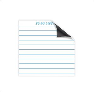 Magnetic Dry Erase Memo Sheets For Refrigerators Dry Erase Boards To Do List