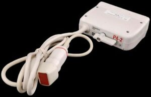 Atl P4 2 Phased Sector Array Cardiac Ultrasound Transducer Probe For Um9 hdi