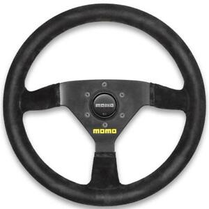 Momo Racing Racing Steering Wheel Mod 69 350mm Black Suede