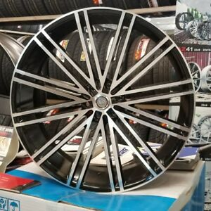 28 28 Inch U2 Rims Wheels Tires Fit Chevy Cadillac Asanti Forgiato Dub Lexani