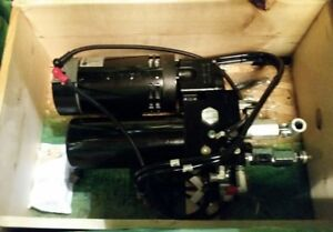 Parker Hydraulic Pump With 6hp 48vdc Motor And Hand Pump Option