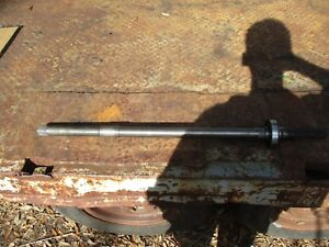 1969 Ford 4000 3 Cylinder Diesel Pto Shaft 33 1 2 Long Free Shipping