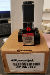 Aro ingersoll rand A212ss 024 d Solenoid Actuator Spring Return