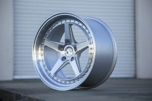 18x9 5 Aodhan Ds05 5x114 3 22 Silver Wheels Set Of 4